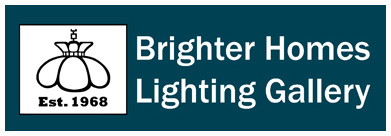 Brighter Homes Lighting Gallery Logo