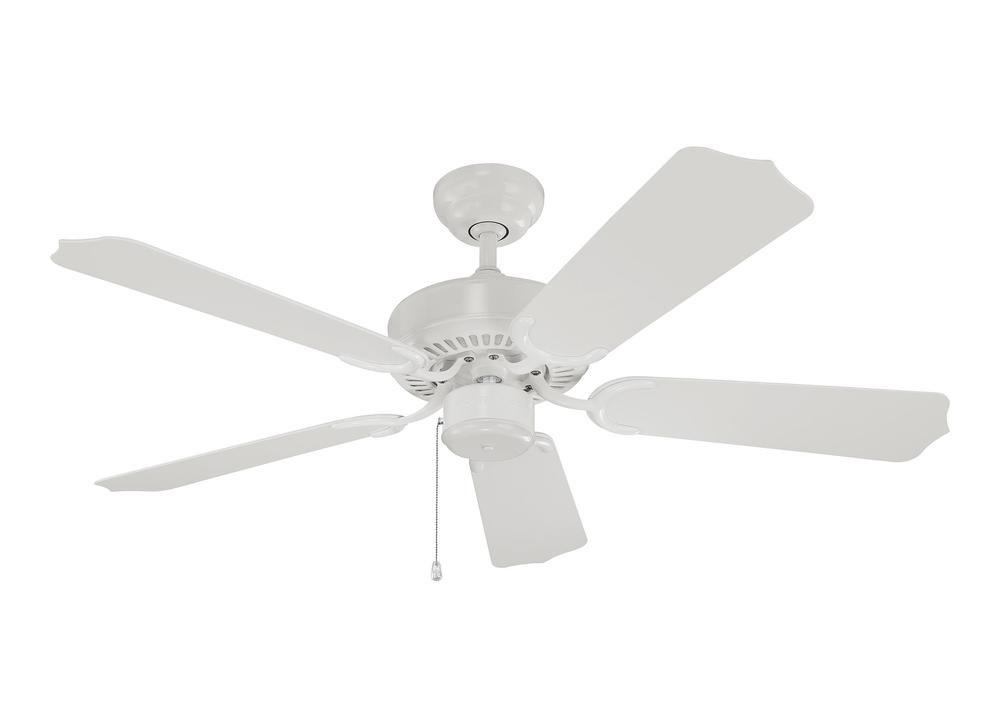 "Monte Carlo 5WF42WH - 42"" Weatherford II Outdoor Fan - White"