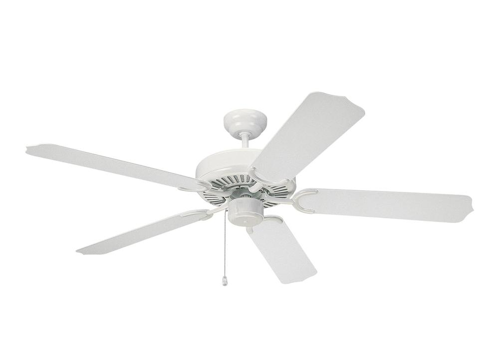 "Monte Carlo 5WF52WH - 52""' Weatherford Outdoor Fan - White"