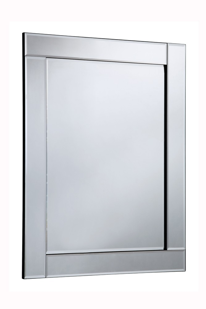 Elegant MR-3045 - Modern 27.6 in. Contemporary Mirror in Clear