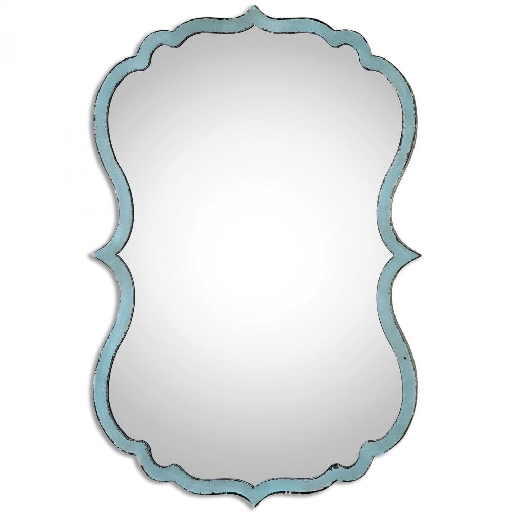 Uttermost 13925 - Uttermost Nicola Light Blue Mirror