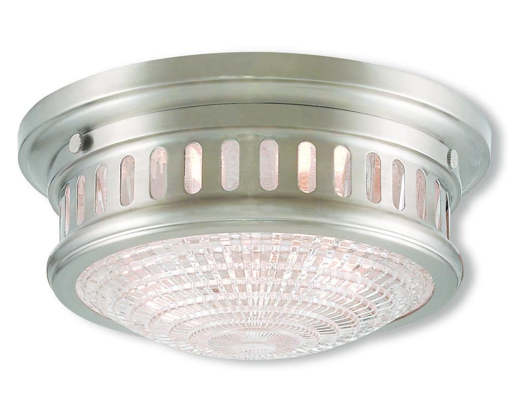 brighter homes lighting. 2 Light Brushed Nickel Ceiling Mount Brighter Homes Lighting E