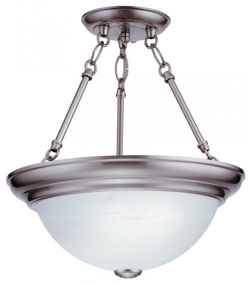 Light Concepts (Lithonia) 11784 BZ - Bronze Bowl Semi-Flush Mount