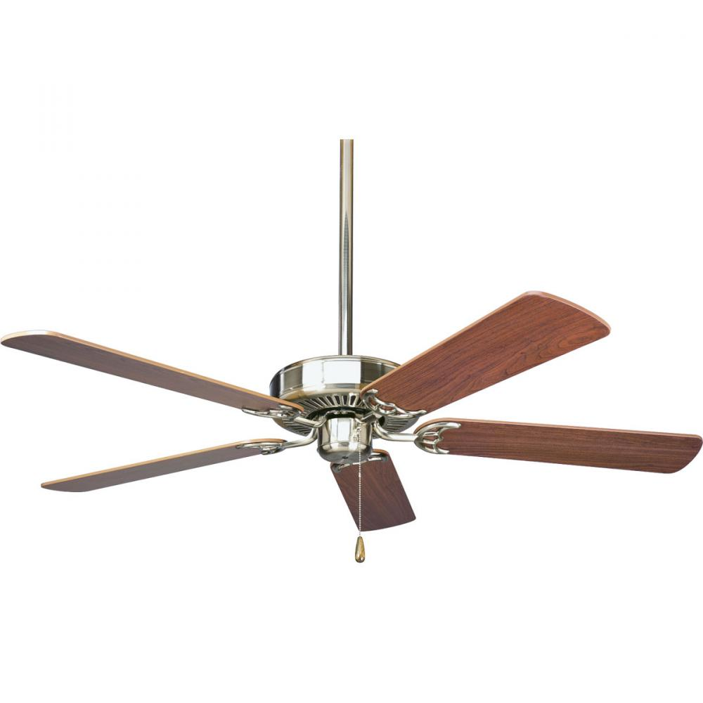 Progress P2501-09 - Brushed Nickel Ceiling Fan
