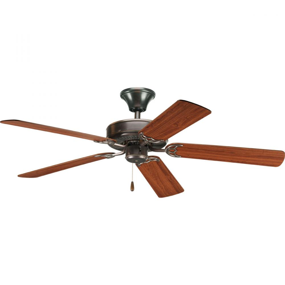 Progress P2501-20 - Antique Bronze Ceiling Fan