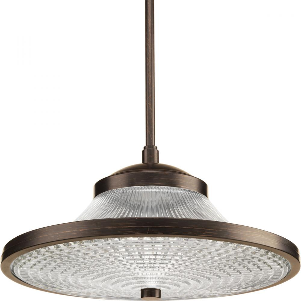 Progress P5053-7430K9 - 1-17W LED 3000K PENDANT