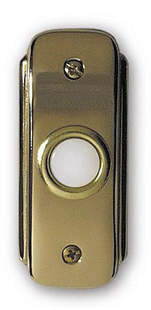 Teiber Lighting Products BR2-PB - Polished Brass Door Bell