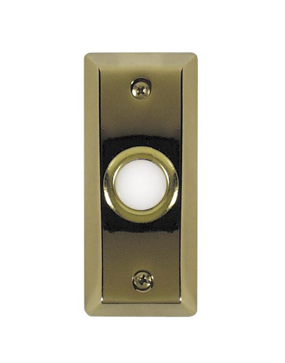 Teiber Lighting Products BS8-PB - Polished Brass Door Bell