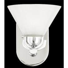 Quoizel DI8501CO - One Light Opal Etched Glass Bathroom Sconce