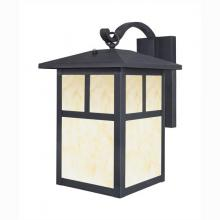 Westinghouse 6483000 - One-Light Outdoor Wall Lantern with Dusk to Dawn Sensor