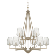 Capital 411201BS-317 - 10 Light Chandelier
