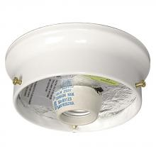 Galaxy Lighting 61038-W - Flush Mount Light Holder - White