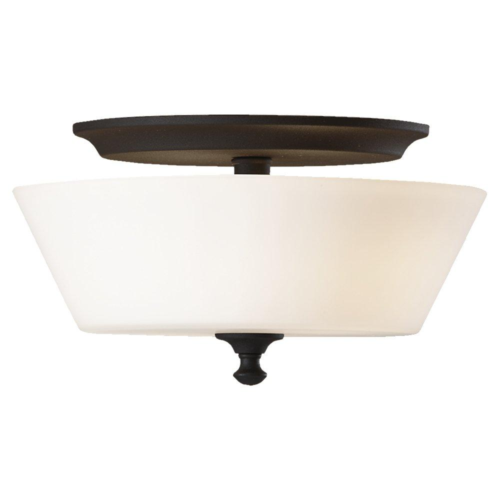Feiss FM354BK - 2- Light Flush Mount