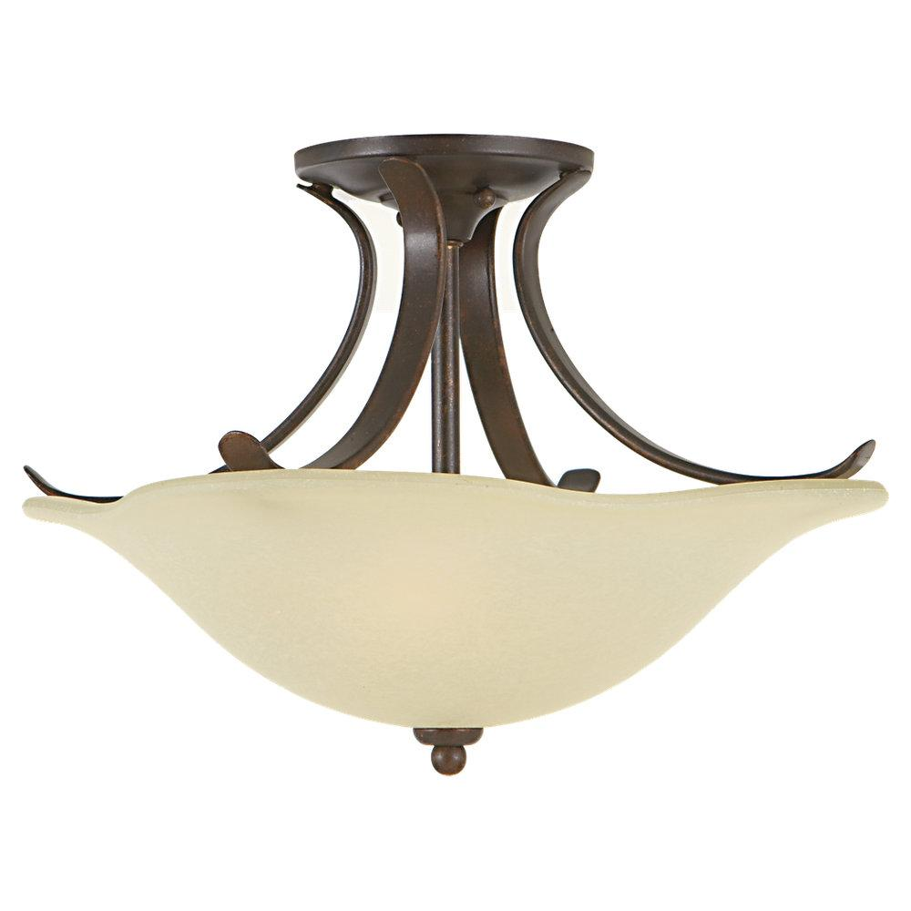 Feiss SF213GBZ - 2- Light Indoor Semi-Flush Mount