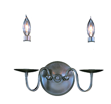 Framburg 9222 SP - 2-Light Satin Pewter Jamestown Sconce